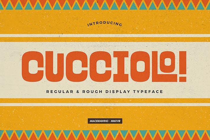 Thumbnail for Cucciolo Typeface