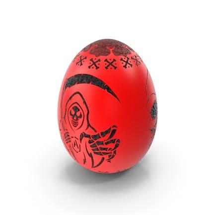 Grim Reaper Skull Evil Egg