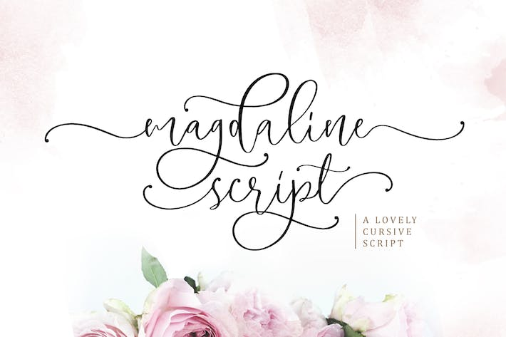 Thumbnail for Magdaline - Lovely Script