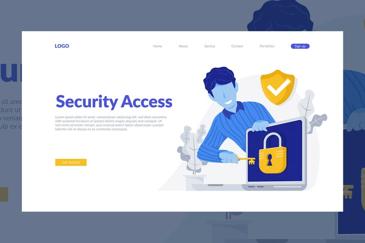 Thumbnail for Web Security Illustration
