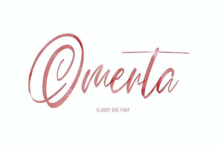 Thumbnail for Omerta | Classy SVG Font