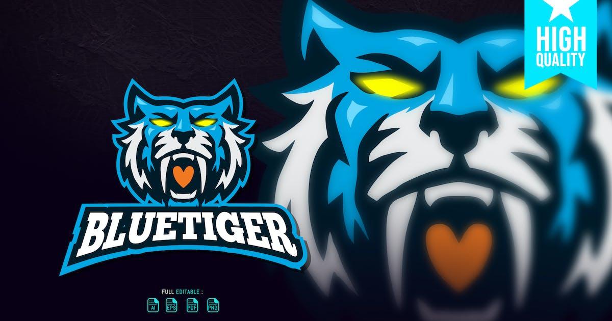 Download Blue Tiger Esport Logo by overlaytemplate
