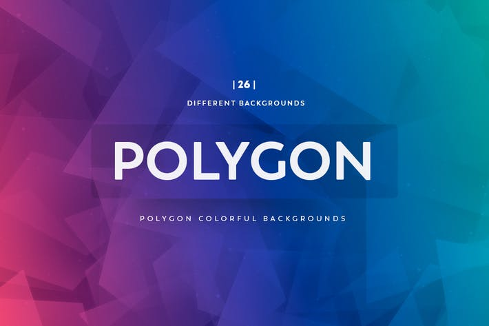 Thumbnail for Polygon Colorful Backgrounds