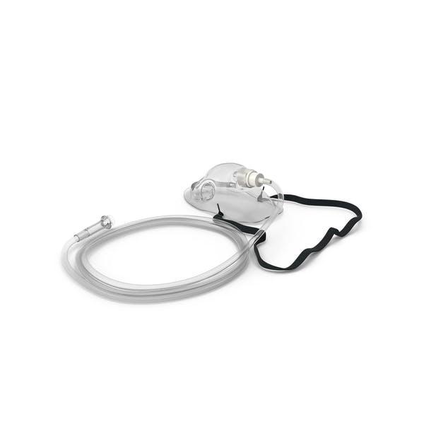 Medizinische Sauerstoffmaske mit flexiblem Band