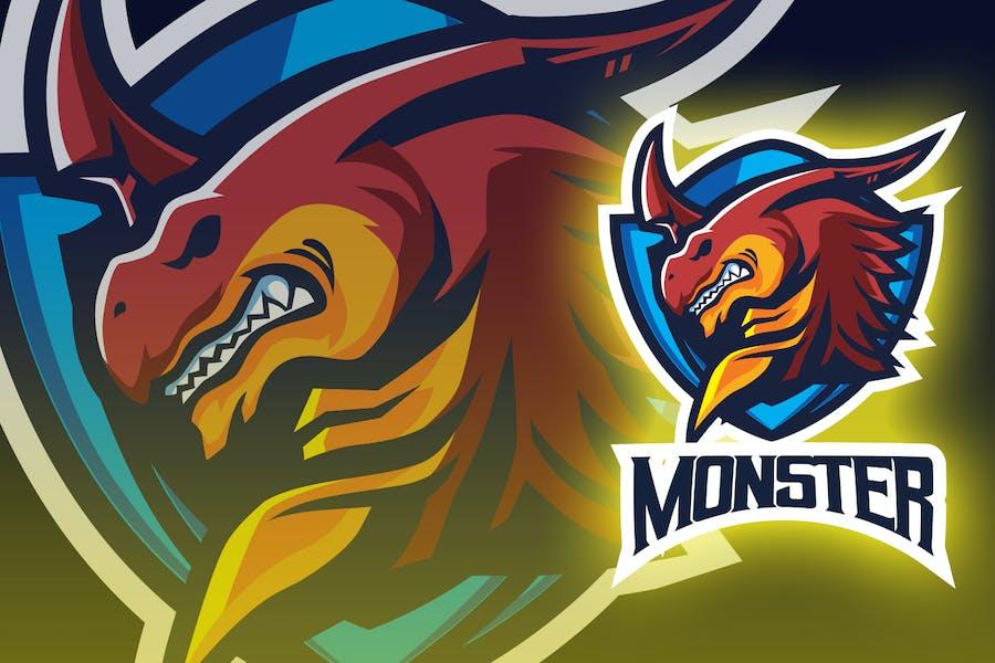 Red Dragon Esport Logo