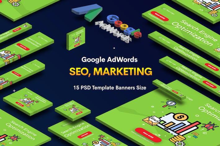 Thumbnail for Référencement, Agence de marketing bannières publicitaires