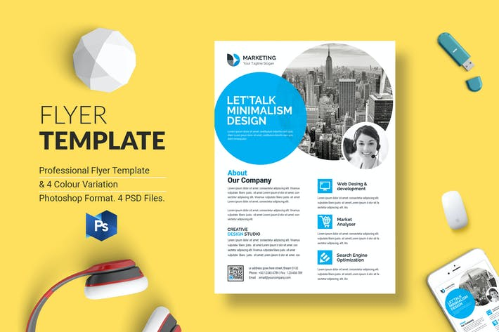 Thumbnail for Business Flyer Template 39