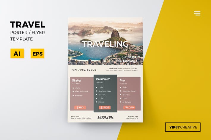 Thumbnail for Travel Flyer