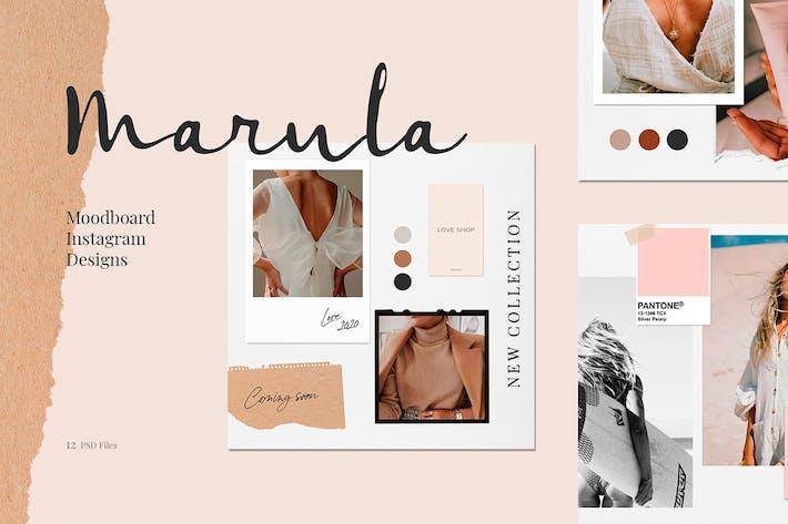 Thumbnail for Марула - Инстаграм Инстаграм Дизайны
