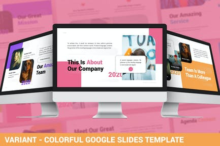 Variant - Colorful Google Slides Template