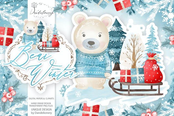 Bear Winter design