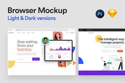 Browser Mockup 1.0