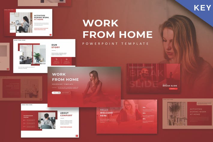 Thumbnail for WFH - Keynote Template