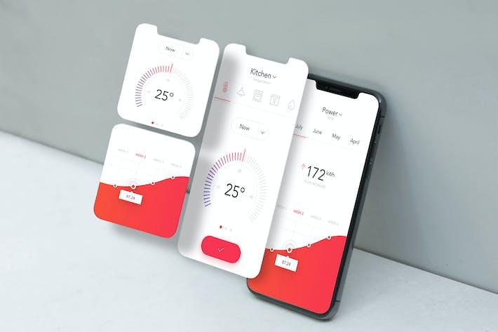 Thumbnail for Mobile App Mockup