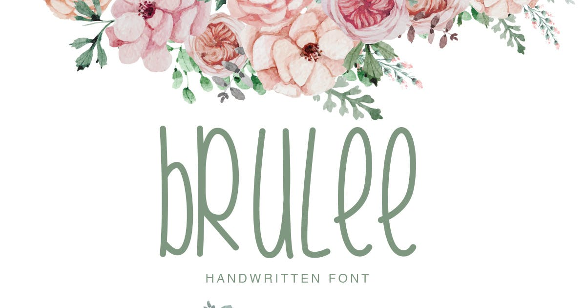 Download Brulee | Font Duo by factory738