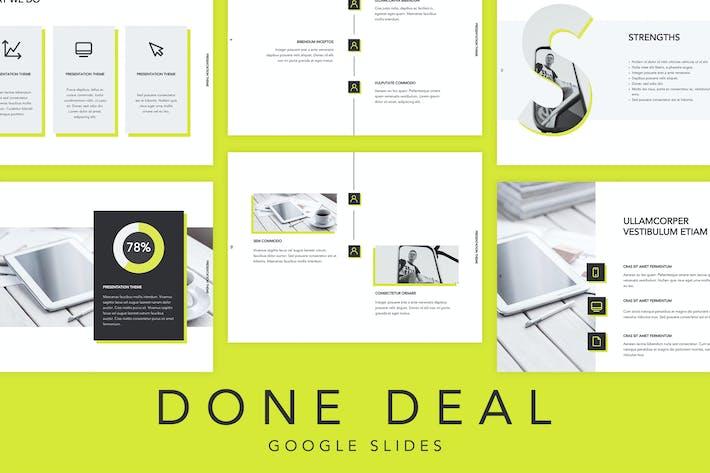 Thumbnail for Done Deal Google Slides