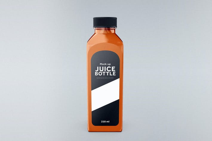 Thumbnail for Juice Bottle Mock-Up Template