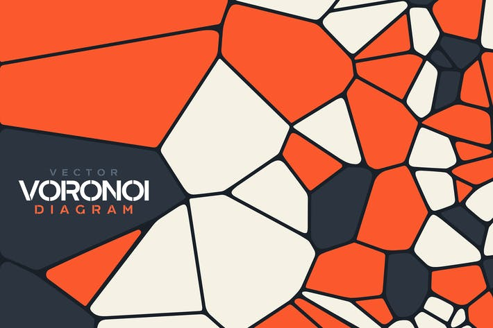 Thumbnail for Abstract Vector Voronoi Diagram Backgrounds
