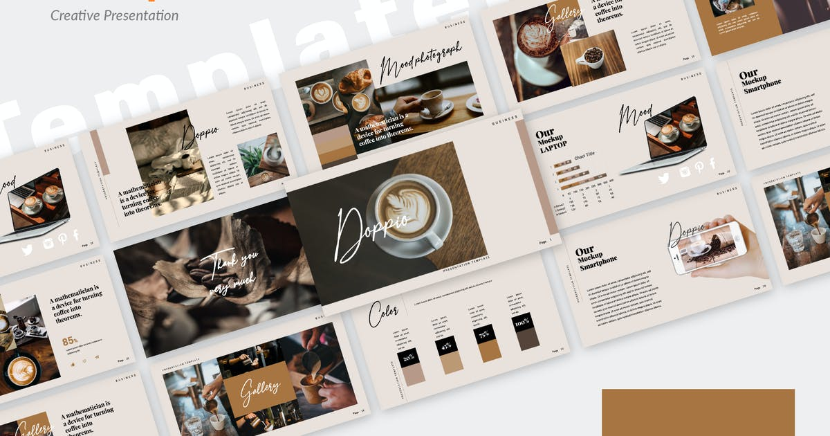 Download Dopio Creative Powerpoint by templatehere