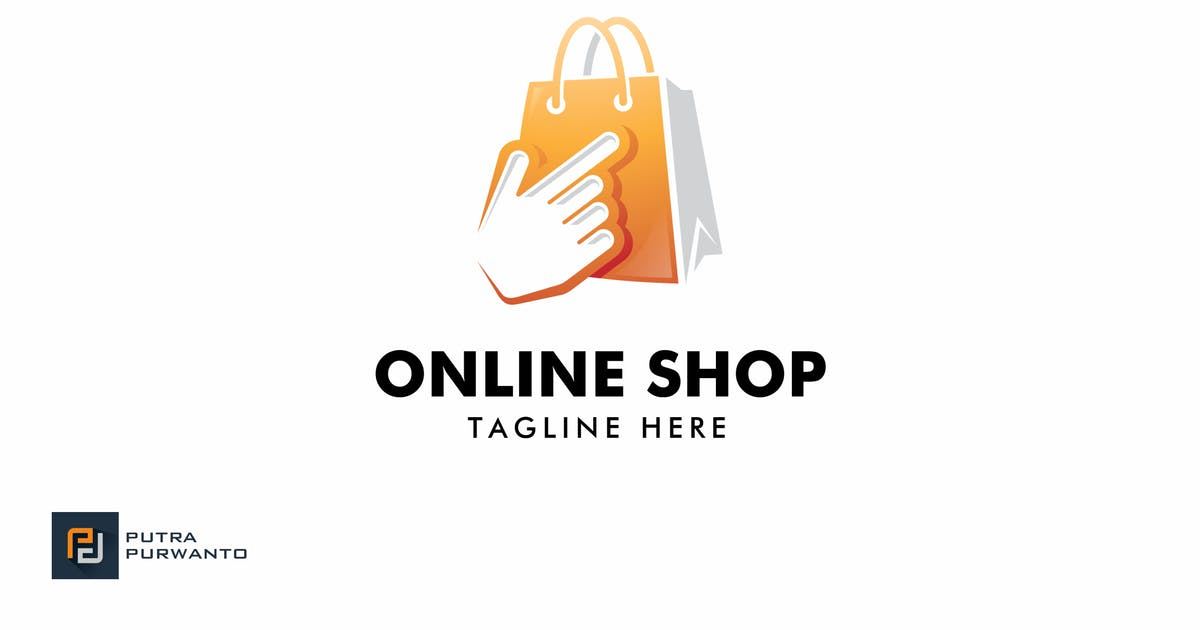 Online Shop - Logo Template by putra_purwanto
