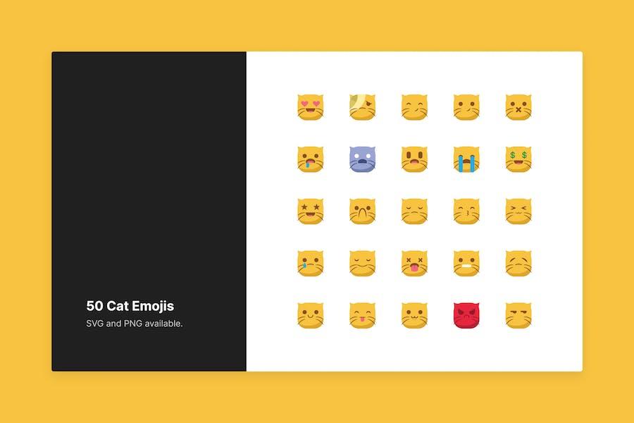 Süße Katze Emojis