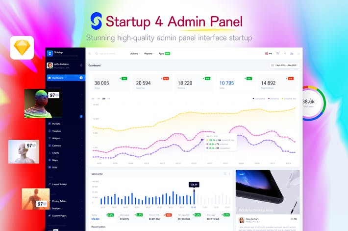 Cover Image For Startup 4 - Admin Panel