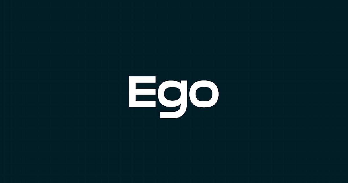 Download EGO - Unique Display / Headline Typeface by designova