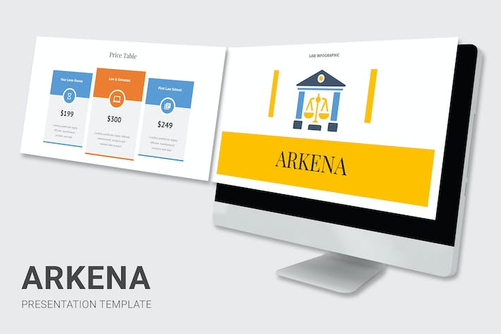 Thumbnail for Arkena - Law Enforcement Infographic Powerpoint