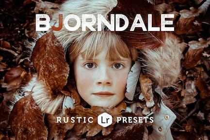 Bjorndale Rustic Lightroom Presets