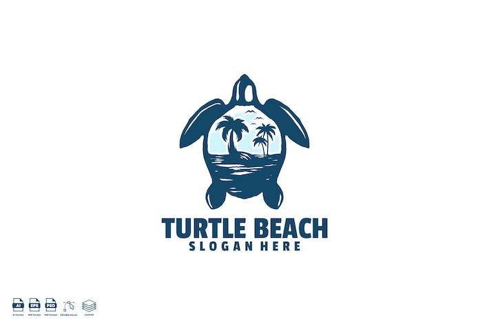 Thumbnail for turtle beach logo template