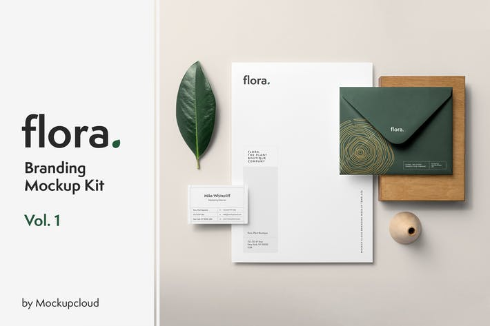 Thumbnail for Flora Branding Mockup Vol. 1