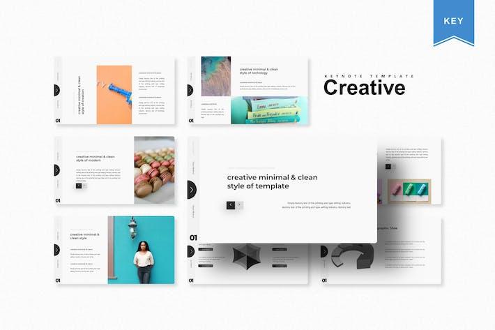 Thumbnail for Creative | Keynote Template