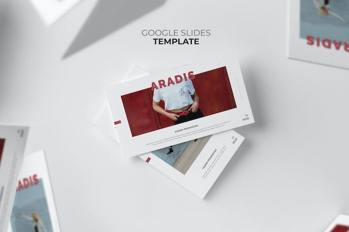 Thumbnail for Aradis : Black Friday Google Slides Template
