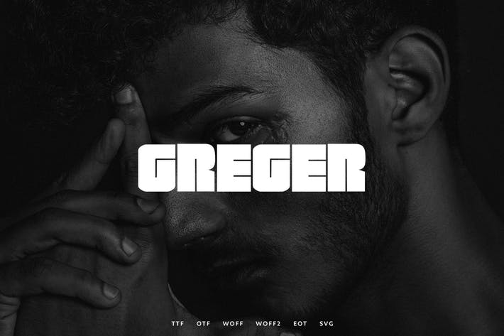Cover Image For Greger - Display Typeface + WebFonts