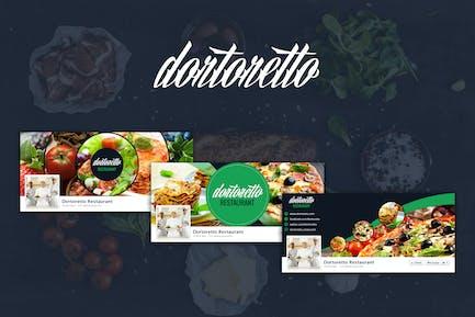 Dortoretto – Facebook Backgrounds Circle