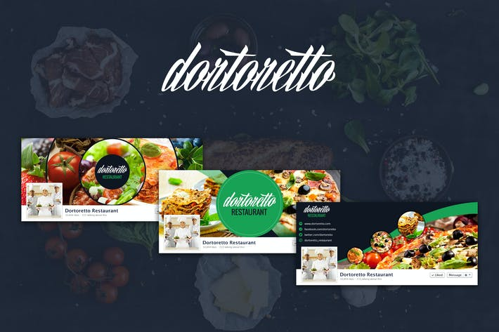 Thumbnail for Dortoretto – Facebook Backgrounds Circle
