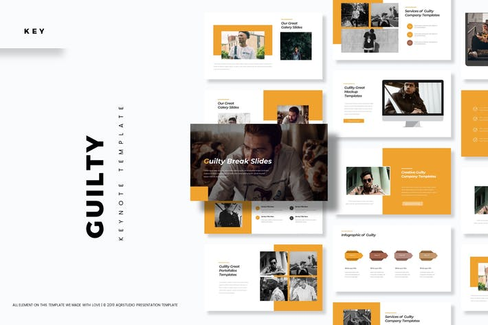 Cover Image For Guilty - Keynote Template