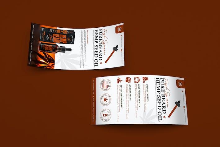 Thumbnail for Hemp Product DL Rackcard