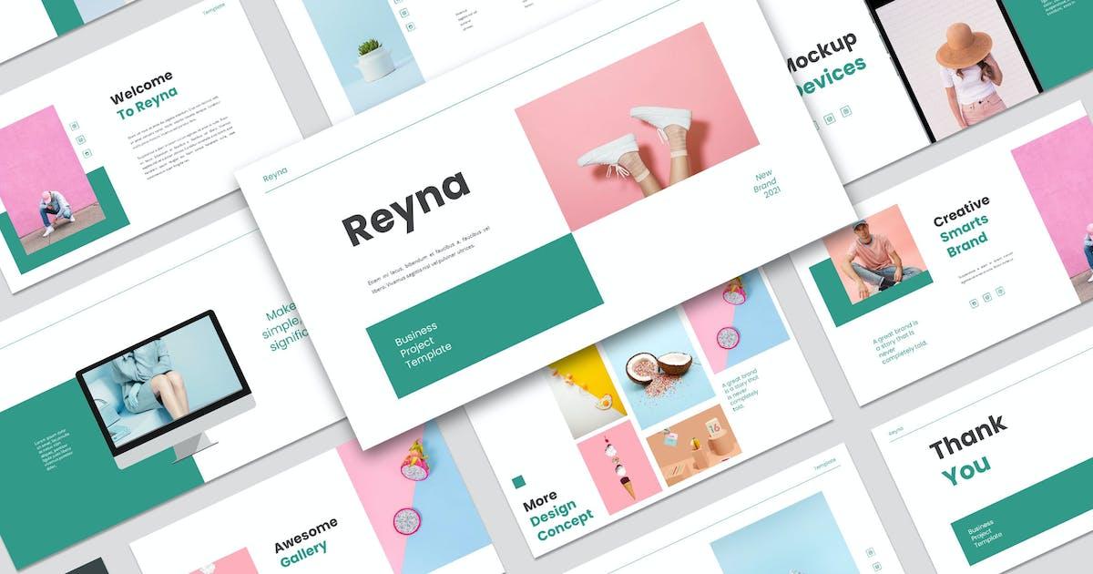 Download Reyna Keynote Template by axelartstudio