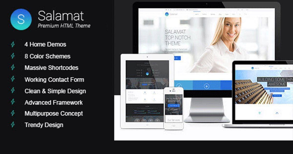 Download Salamat | Multi-purpose HTML Template by max-themes