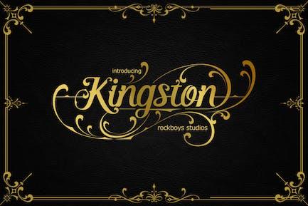 Kingston - Элегантный шрифт