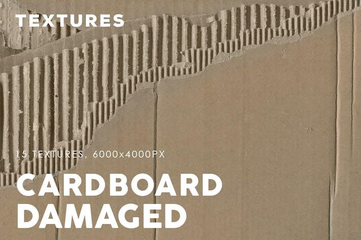 Damaged Cardboard Textures 2