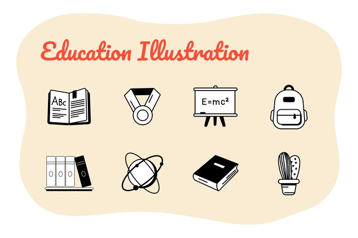 Thumbnail for Education Icons