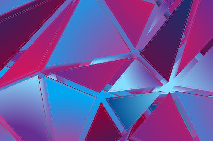 Thumbnail for Abstract hi-tech geometric low poly background