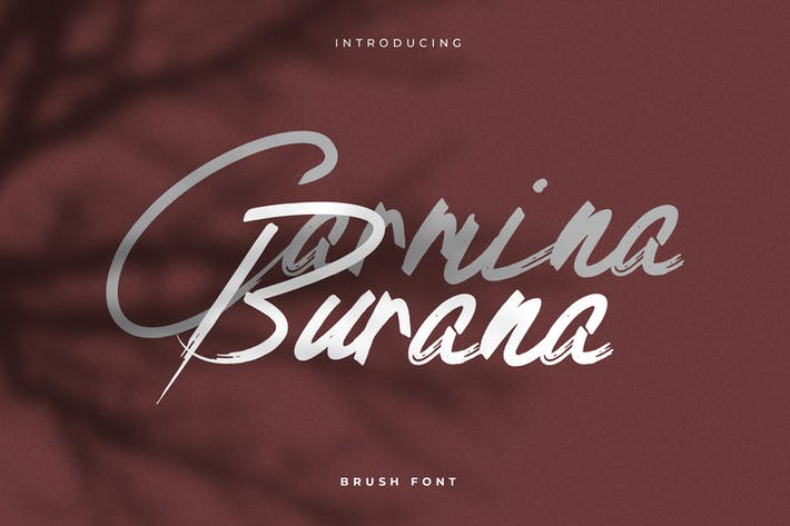 Thumbnail for Carmina Burana - Grunge Brush Font