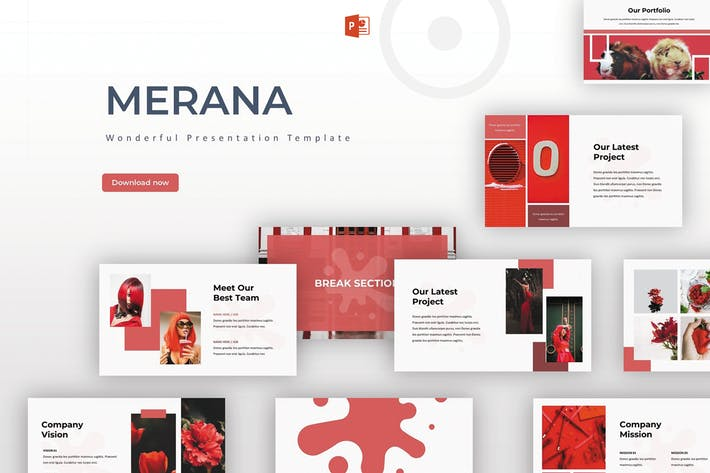 Thumbnail for Merana - Powerpoint Template