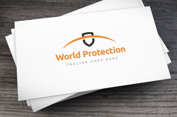 Thumbnail for World Protection Logo Template