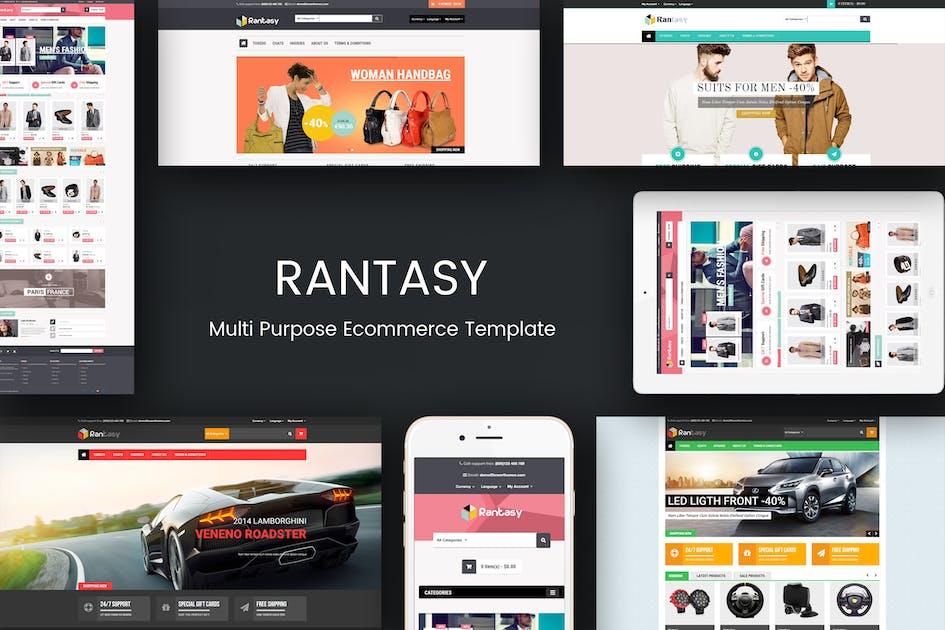Download Rantasy - Multipurpose Responsive Opencart Theme by posthemes