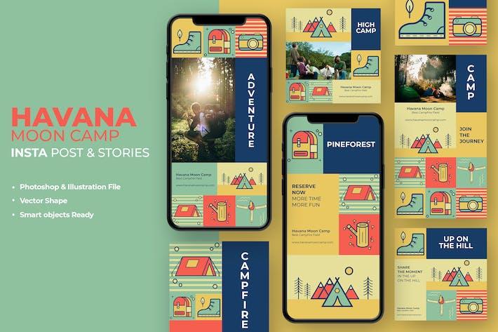 Thumbnail for Havana Moon Camp Instagram Stories & Post