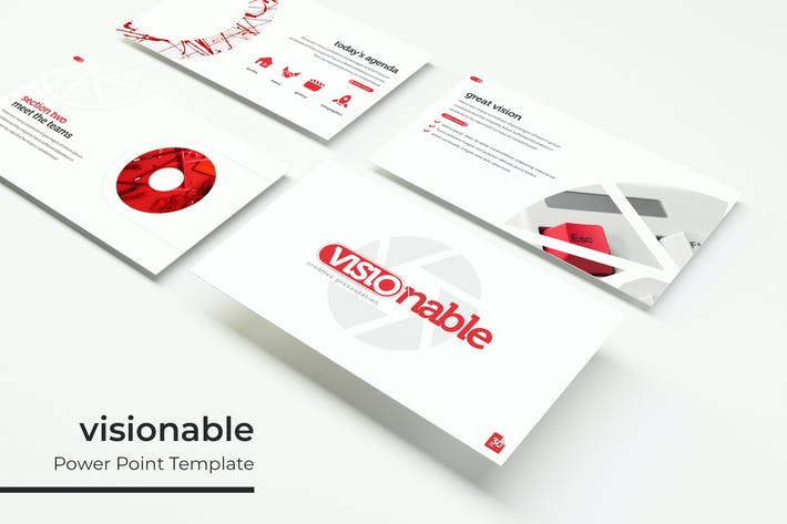 Thumbnail for visionable - Powerpoint Template